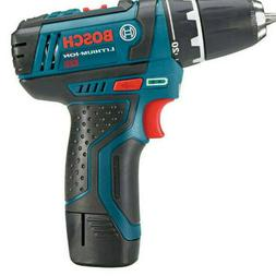 Brand New 12 V MAX  Cordless Bosch Drill Driver  Never Used.