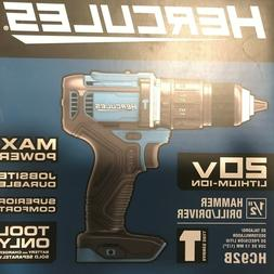 """Brand new Hercules 20v Lithium 1/2"""" Drill/Driver  for best p"""