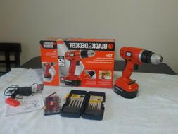 BRAND NEW BLACK+DECKER 12V Cordless Drill With Charger a