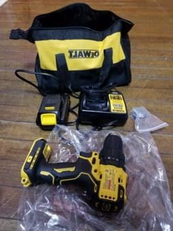brand new dewalt brushless drill with battery,charger, belt