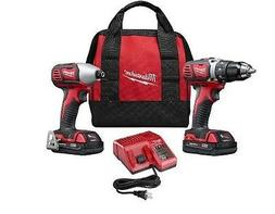 Brand New Cordless Drill Driver Kit & Impact Driver Combo 2