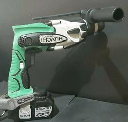"Brand New Hitachi DH18DL 18V 5/8"" SDS Rotary Hammer drill +"