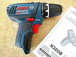 "Brand New Bosch PS31 12V 2 Speed Max 3/8"" Drill Driver Cordl"
