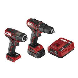 Skil CB742901 12V PWRCore Brushless Drill Driver and Impact