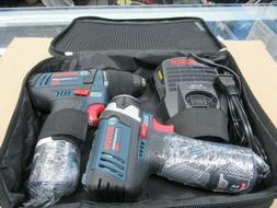 BOSCH CLPK22-120 12 V Max 2-Tool Drill Impact Driver Cordles