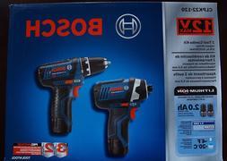BOSCH CLPK22-120 12V Max 2-Tool Lithium-Ion Cordless Combo K
