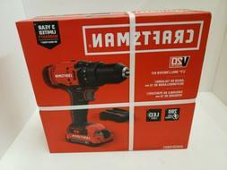 "Craftsman CMCD700C1 20V 1/2"" Cordless Drill"