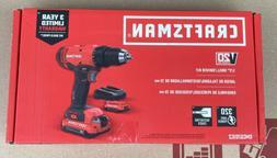 CRAFTSMAN CMCD701C2 V20 Cordless Drill/Driver Kit
