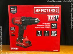 CRAFTSMAN CMCD711C2 V20 Cordless Hammer Drill Kit