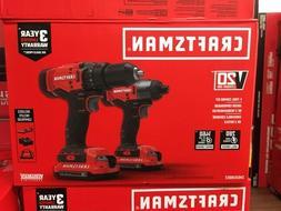 CRAFTSMAN CMCK200C2 V20 2 Tool Combo Kit