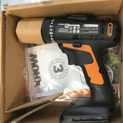 Worx 20V Compact 2 Speed Cordless Drill and Driver Hammer Po