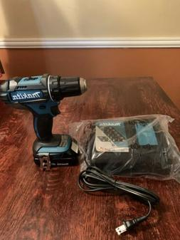 "18V Compact Lithium-Ion Cordless 1/2"" Driver-Drill Kit"