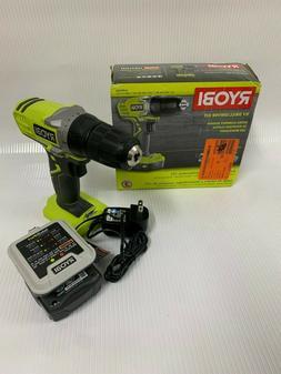 "RYOBI Cordless 3/8"" Drill/Driver Kit 12-V Lithium-Ion W/ 12-"