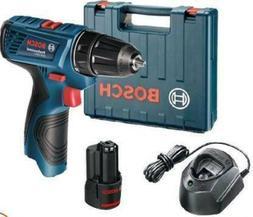 Cordless Angle Drill Driver Bosch Single Battery 10 mm Chuck