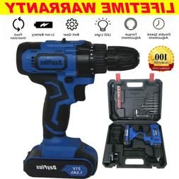 cordless combi drill driver electric battery power