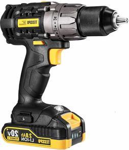Cordless Drill, 20V Drill Driver 2x2000mAh Batteries, 530 In