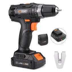 Cordless Drill, Tacklife 20V Drill Lithium-Ion Battery with
