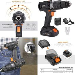 Cordless Drill 20V Max, 310 In-Lbs, 16+3 Position, 2.0Ah Lit