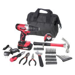 Hyper Tough Cordless Drill & 70-Piece Tool Kit