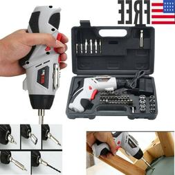 Cordless Drill Driver Rechargeable Electric Screw Drill Repa