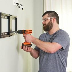Cordless Drill Pack Tool Kit DIY Home Repairs Hand Power Too