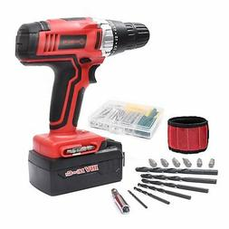 Cordless Drill ScrewDriver WORKSITE CD312-18N 18-Volt 1200mA