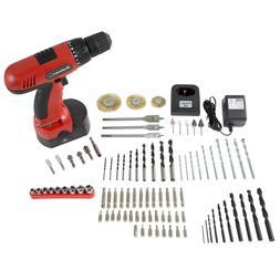 Cordless Drill Set 3/8 durable Carring Case Ni Cad Convienen