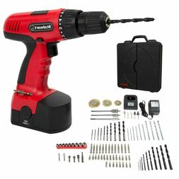 NEW Stalwart 18V Cordless Drill Set, 89-Piece Easy-To-Use ki