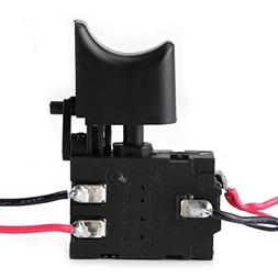 12V Cordless Drill Trigger Switch Lithium Battery with Small