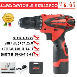 Cordless Electric Screwdriver Drill Power Tool Fast Charger