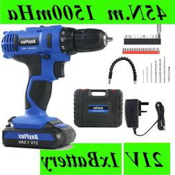Cordless Electric Screwdriver Handy Rechargeable Power Tools