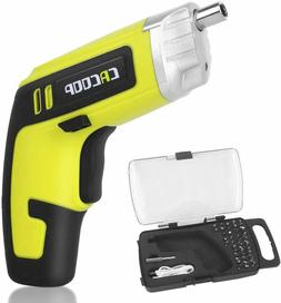 CACOOP Cordless Electric Screwdriver Rechargeable Drill 4V 1