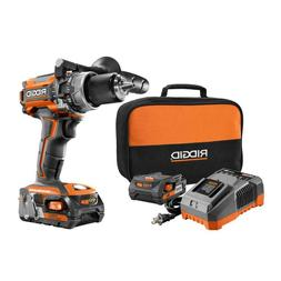 """1/2"""" Cordless Hammer Drill Driver 18V Battery Charger Commer"""