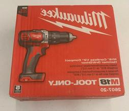Cordless Hammer Drill Keyless Ratcheting Chuck LED Light M18