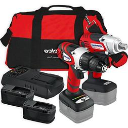 ACDelco Cordless Li-ion 18 MAX  Impact Wrench/Drill Driver C