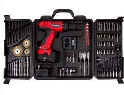 Stalwart 89-Piece 18-Volt Cordless Power Drill Set with Powe