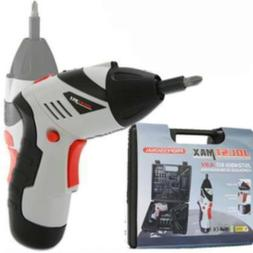 cordless screwdriver portable handle feature angle rotation