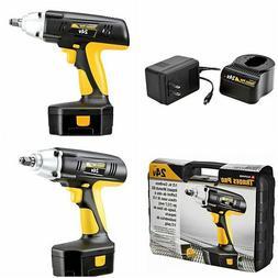 Cordless Tools For Men 24v Impact Socket Rachet Wrench Drill
