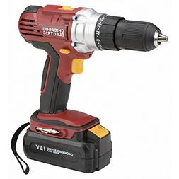 18 Volt 1/2 in. Cordless Variable Speed Drill/Driver HFJ14