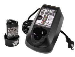 Makita DC10WB Battery Charger and BL1014 Battery