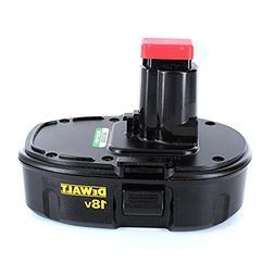Dewalt DC9099 18V NiCd Low Profile Battery in Retail Packagi
