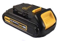 DEWALT DCB201 1.5-Ah 20-Volt Lithium-Ion Compact Battery