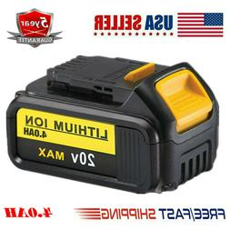 DeWalt dcb205 x 2 20-Volt  5.0Ah Battery dcb115 Charger Bag