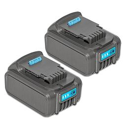 RSTECH Upgraded 20V MAX 5.0Ah Lithium Li-ion Battery Compati