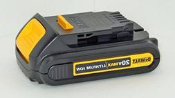 Dewalt DCB207 20 Volt Lithium Ion Battery Pack