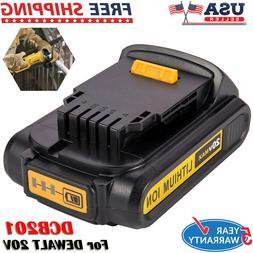 DeWalt DCB207 20V 20 Volt Max Lithium Li-Ion 1.3Ah Amp Compa