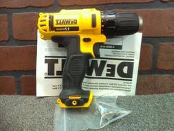 """Dewalt DCD710B 12V Max 3/8"""" Adj Clutch Drill/Driver w/Factor"""