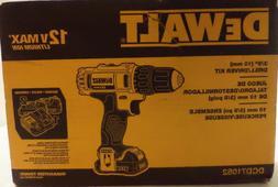 DEWALT DCD710S2 12-Volt Max 3/8-Inch Drill Driver Kit Speed