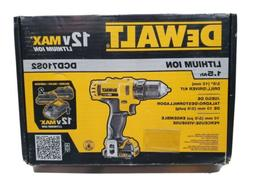 """DeWalt DCD710S2 3/8"""" 12V MAX Cordless Drill/Driver Kit"""