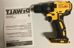 "Dewalt DCD777 20V Max Li-Ion 1/2"" Brushless Drill Driver New"